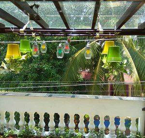 Balcony Hanging Cups