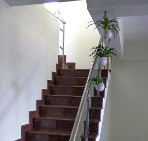 Staircase Planters